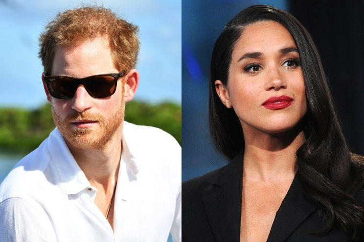 He is also reportedly dating American actress Meghan Markle, 35. (Photo: Vanity Fair)