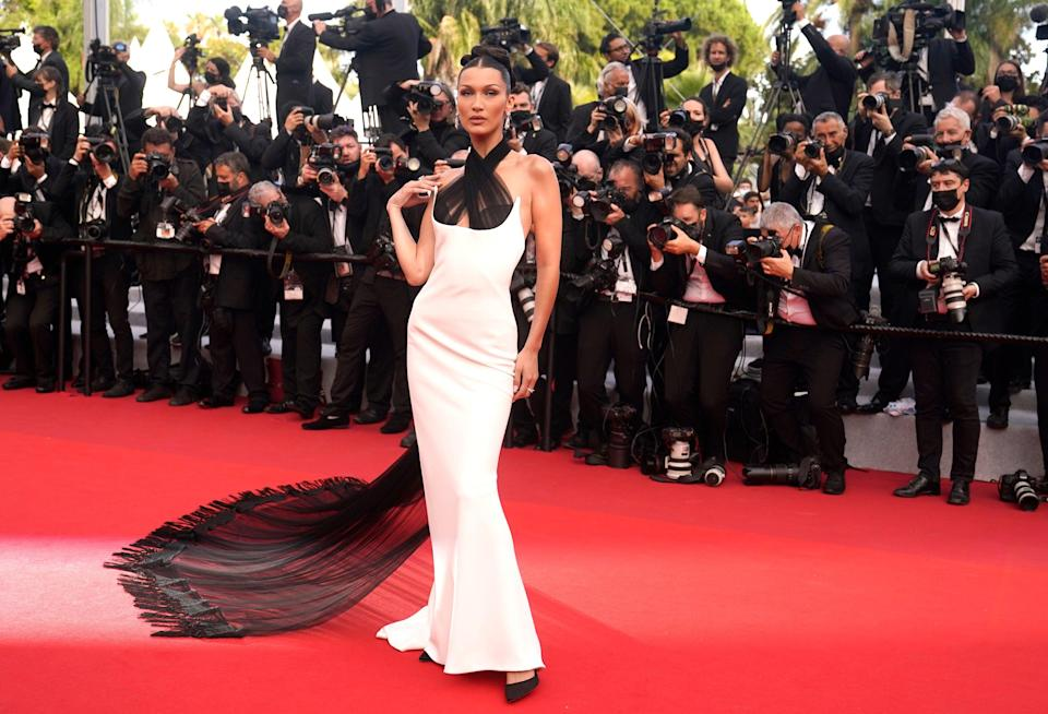 Back to best: stars hit the red carpet at the Cannes Film Festival  (AP)