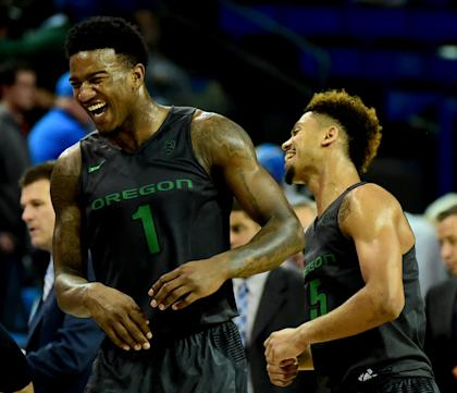 Oregon heads into the Pac-12 tournament on a five-game winning streak. (Getty)