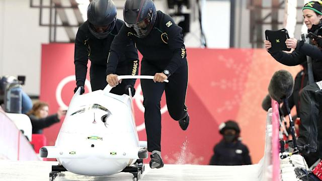 The 'Mr Cool Bolt' sled that the Jamaican bobsleigh team had been renting now belongs to them, thanks to a generous offer from Red Stripe.