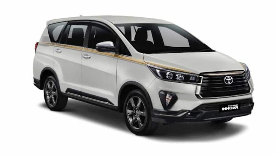 Toyota celebrates 50th anniversary in Indonesia with limited-run Innova Crysta