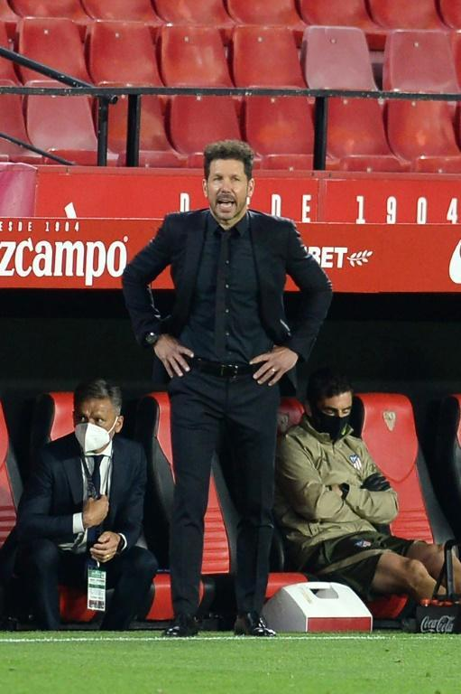 Diego Simeone has seen his Atletico Madrid side blow a big lead at the top of the Spanish league