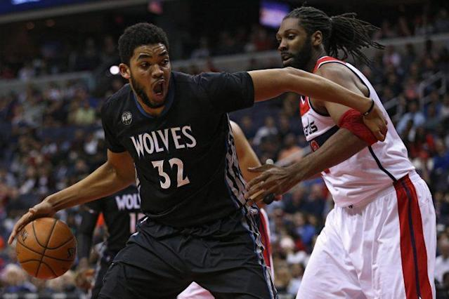 Karl-Anthony Towns appears to be a franchise-level talent. (Getty Images)