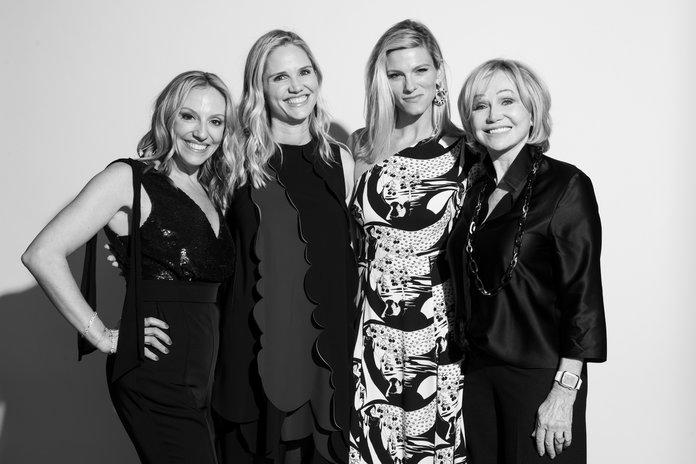 <p>Kristin O'Keeffe Merrick, Jennifer Brown, Lindsay Shookus, and Kathryn Hall.</p> | <p>Rosalind O'Connor</p>