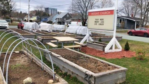The church provides garden plots to help with food security and to foster community