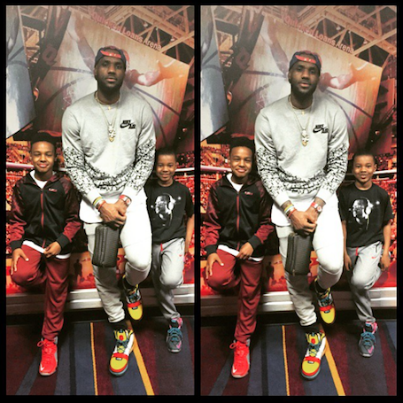 9c34b715607c Lebron James Jr. Gets Basketball Scholarship Offers From Colleges