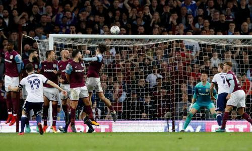 Aston Villa survive late Stewart Downing scare to reach Wembley final