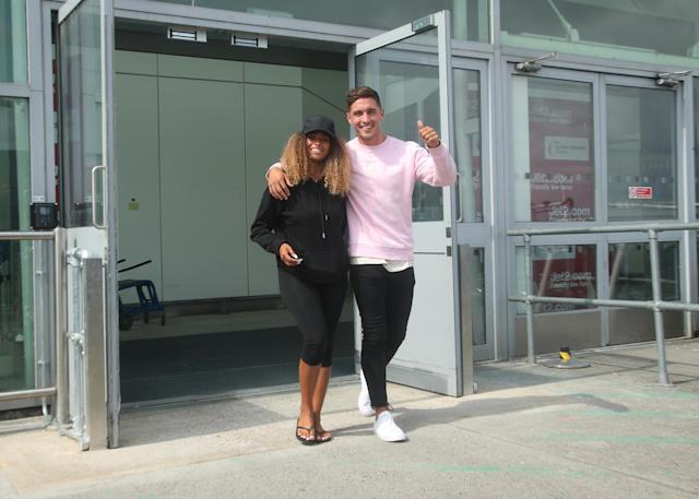 The perfect TV holiday escape from all things Brexit, Love Island enjoyed another ratings win in the summer, capped off by Greg and Amber being crowned King and Queen of the villa (Picture: PA)