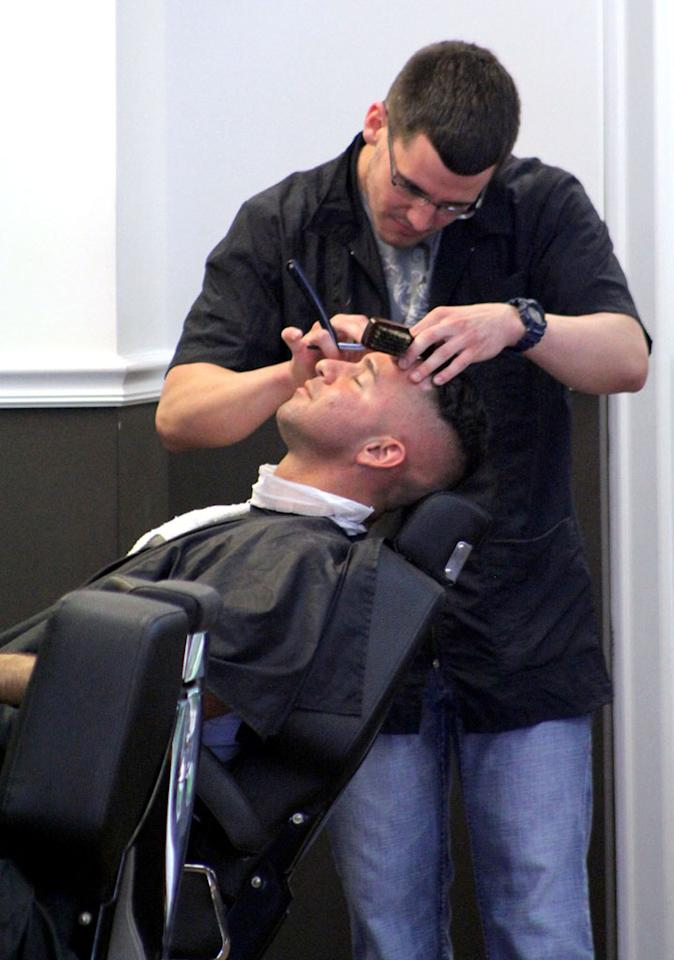 "Perhaps the reality star is freshening up for ""The Choice""? It's a new competition show (premiering on June 7) that's kinda like ""The Voice,"" but for dating, with the celebrities selecting people for their dating pool based on what the contestants say, not what they look like. The Sitch's co-stars include Paul ""DJ Pauly D"" DelVecchio, ""Keeping Up With the Kardashians'"" Rob Kardashian, Joe Jonas, and model/actress/strip aerobics guru Carmen Electra. will also be part of the cast for the show. Do you think The Situation will find true love? (5/14/2012)"