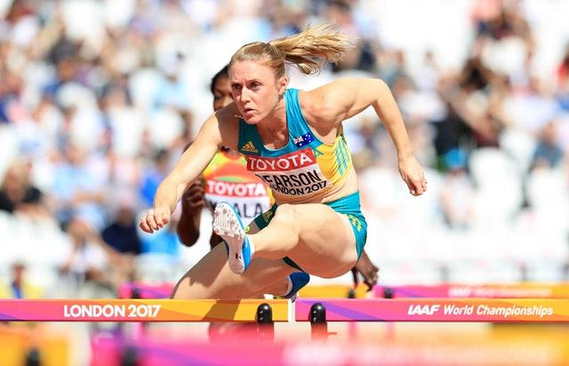 Australia's Sally Pearson has finished competing in hurdling as her 'body has decided it is time to let it go' (Adam Davy/PA)