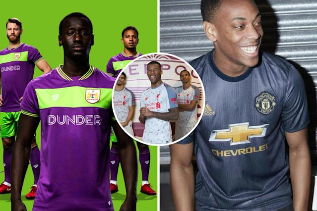 <p>Not all kits released this summer have gone down well with fans</p>