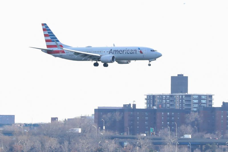 American Airlines reaches settlement with Boeing for 737 MAX compensation in 2019