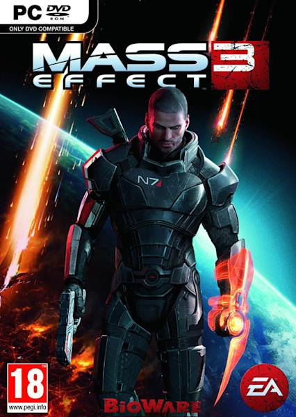 Cover art for Mass Effect 3 (video game)