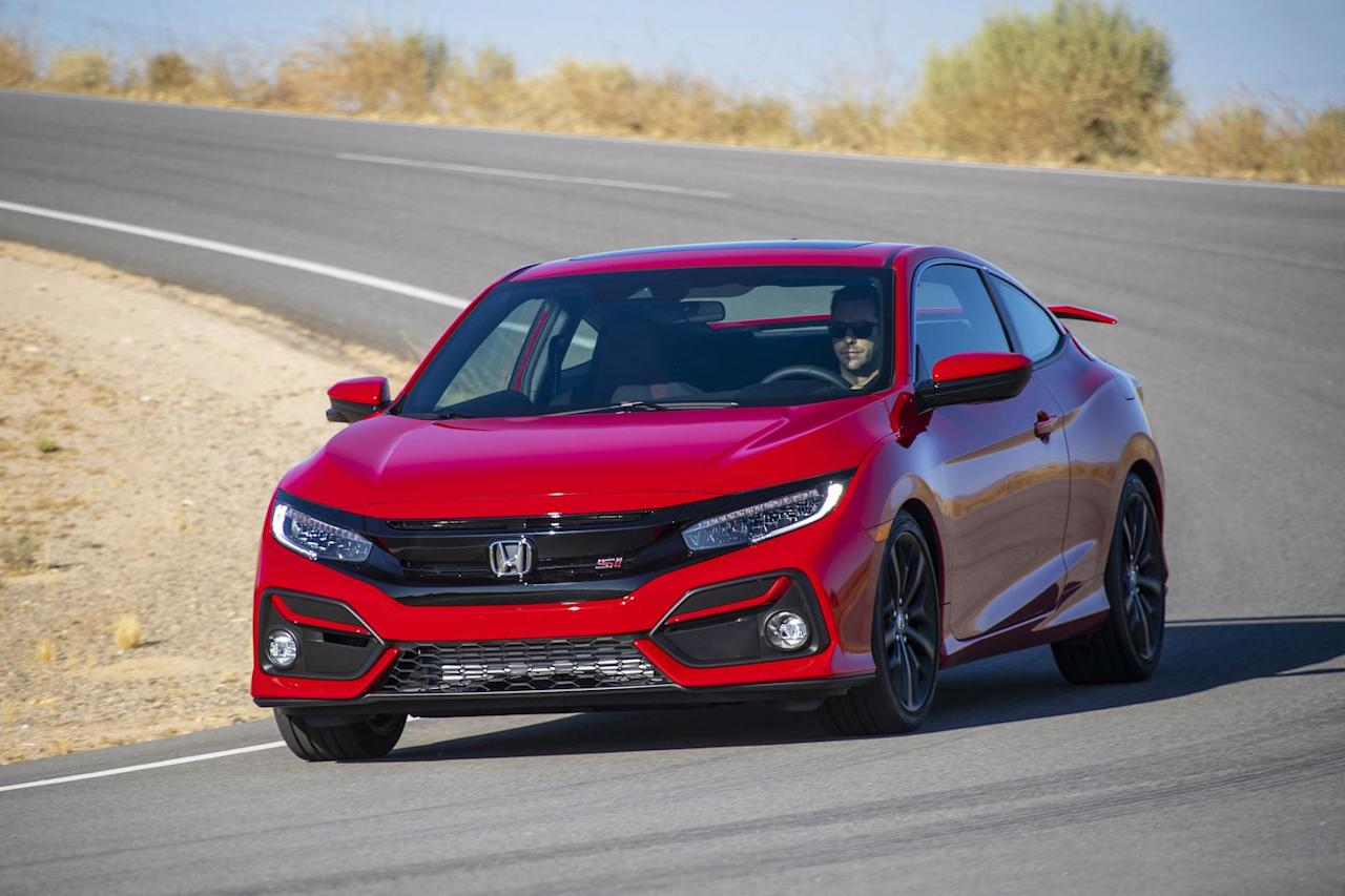 """<p>Honda was careful with its refresh of the <a href=""""https://www.caranddriver.com/honda/civic-si"""" target=""""_blank"""">2020 Civic Si</a>, mindful of its great success and popularity across the globe. Starting at the front of the car, new LED headlights and fog lights as well as a redesigned front bumper improve its looks and nighttime visibility.</p>"""