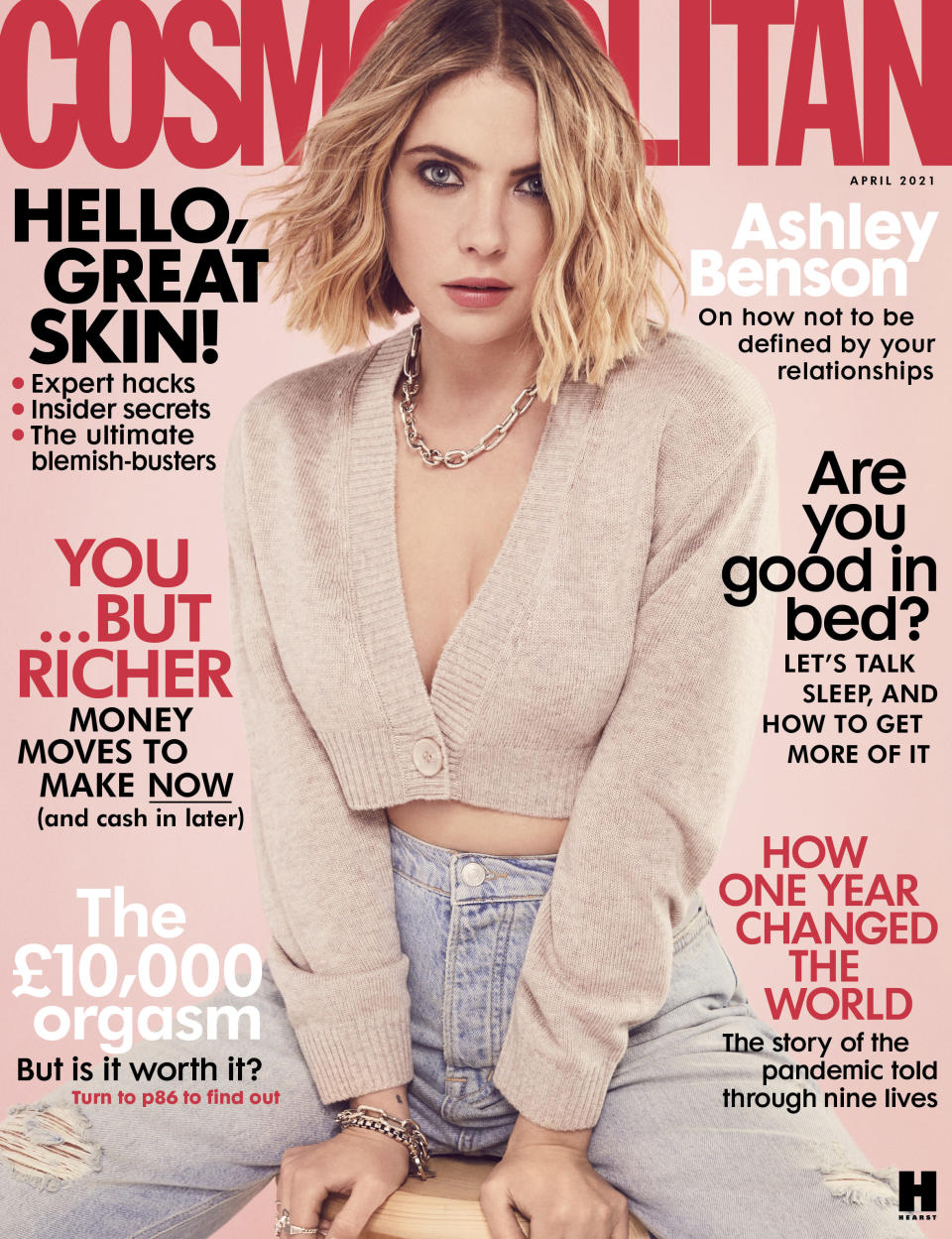 Ashley Benson on Cosmopolitan UK