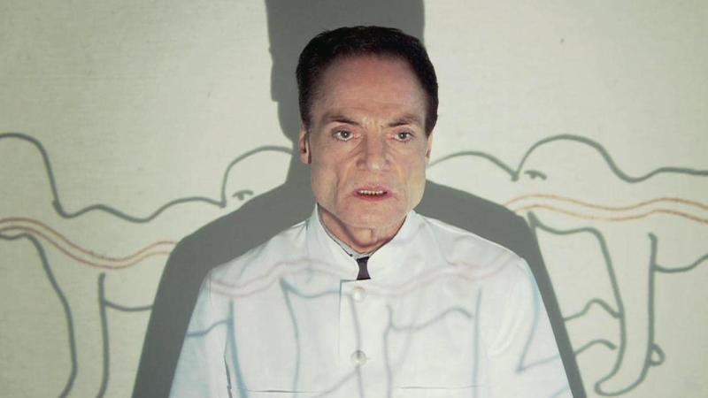 Dieter Laser in 'The Human Centipede'. (Credit: Bounty Films/Six Entertainment)