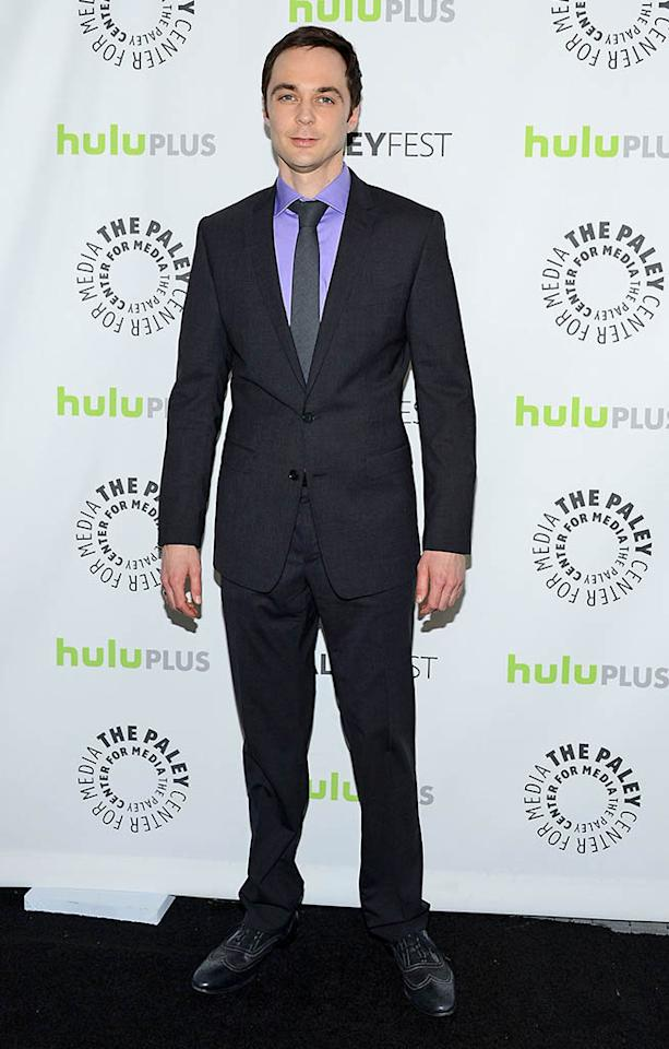 "Jim Parsons attends the 30th Annual PaleyFest featuring the cast of ""The Big Bang Theory"" at the Saban Theatre on March 13, 2013 in Beverly Hills, California."