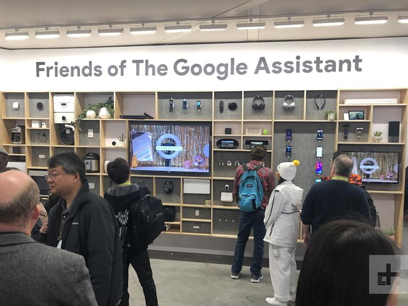CES 2019 Booth Google