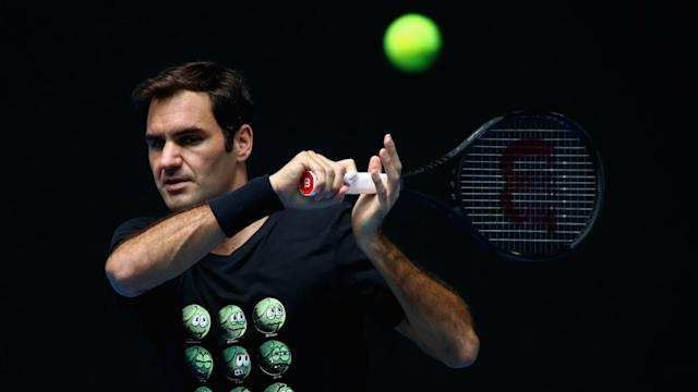 Defending champion Roger Federer, 36, insisted he is far from favourite to take out the Australian Open, which starts on Monday.