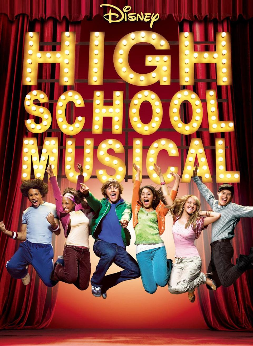 <p>The Zac Efron film that started it all. (Zac Efron's career.) Come re-live the joys of these spunky teens who must choose between popularity and theater. <br><br><em>(Credit: Disney Channel)</em> </p>
