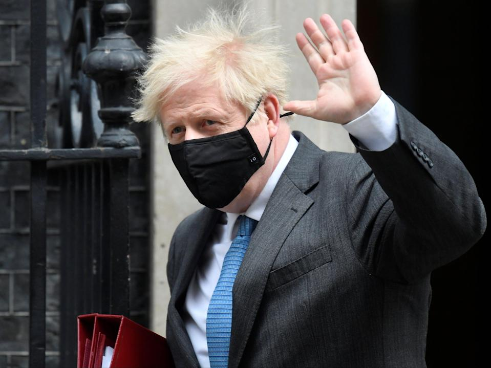 <p>Boris Johnson has come under pressure, both in the press and from Labour</p> (REUTERS)