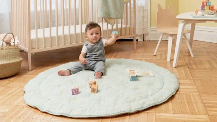 How precious is this cotton playmat?
