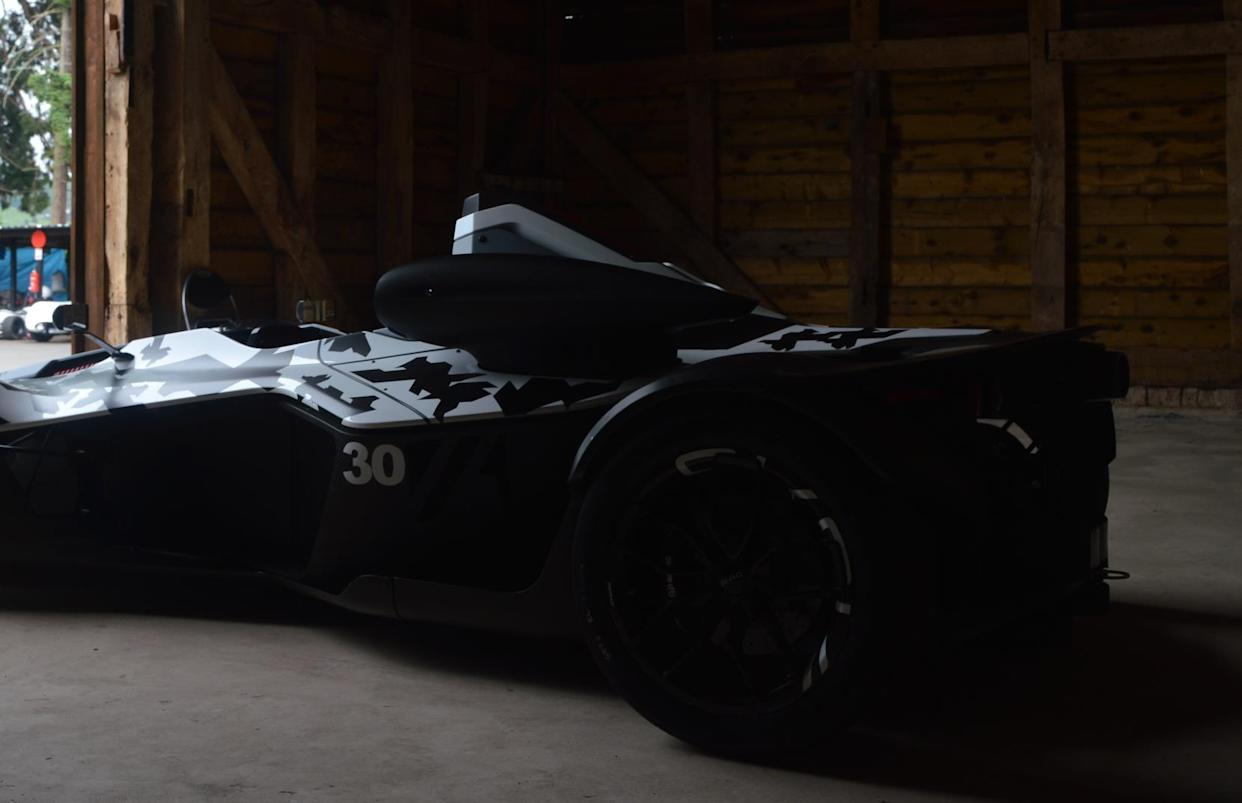 The Mono is set for a full reveal at the Goodwood Festival of Speed