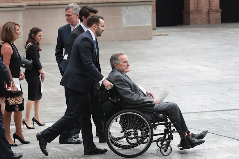 George H.W. Bush Honored His Wife in a Subtle Way at Her Funeral