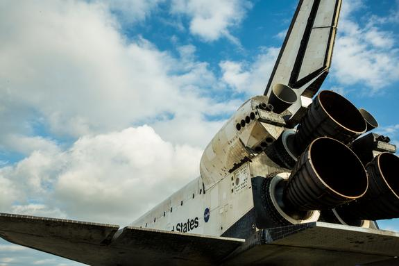 """Space shuttle Endeavour's trip through Los Angeles stars in a stunning time-lapse movie by a photography team led by Matt Givot. The movie """"Mission 26: The Big Endeavour"""" chronicles Endeavour's delivery to the California Science Center on Oct."""