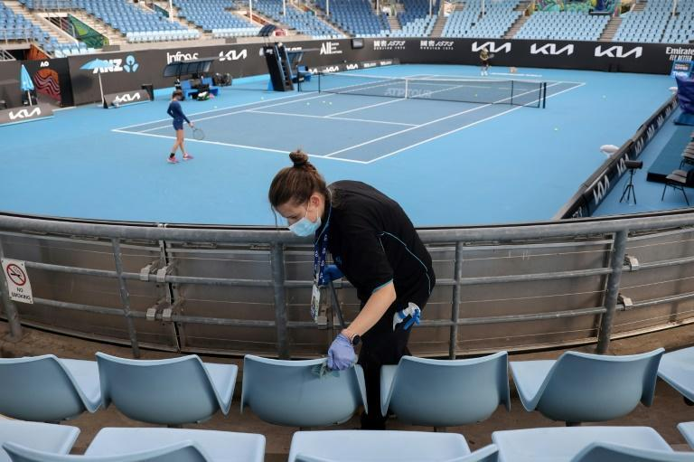 Crowds will be limited at the Australian Open in Melbourne