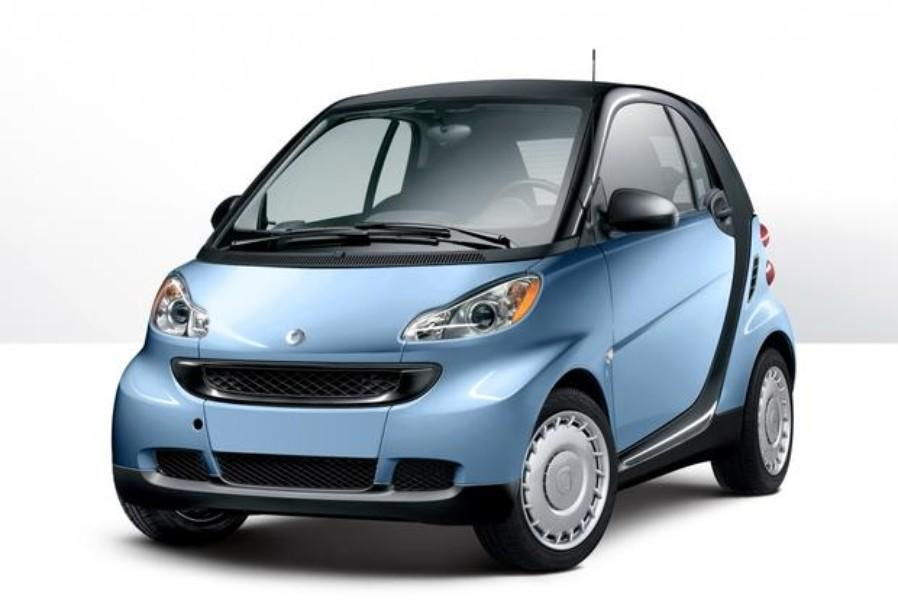 This diminutive model is small even by microcar standards and is woefully underpowered. It's saddled by an eccentric-shifting transmission, is largely impractical with only two seats and negligible trunk space and delivers a rough and noisy ride. On the plus side it's able to park in roughly half the space of a normal car. It's among the worst performing models tested by Consumer Reports, and takes a leisurely 14.6 seconds to reach 60 mph. Fuel economy is decent (but not spectacular) at 34/38 mpg city/highway; unfortunately the ForTwo requires premium-grade fuel, which tends to siphon off any financial savings at the pump.