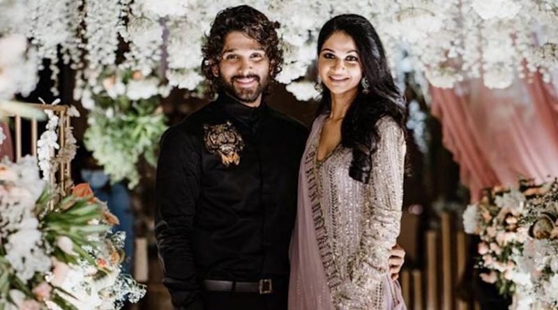 Allu Arjun – Sneha Reddy's Pics from Niharika Konidela's Engagement Ceremony Go Viral! Fans Go Wow after Looking at the Tollywood Couple's Stylish Avatars