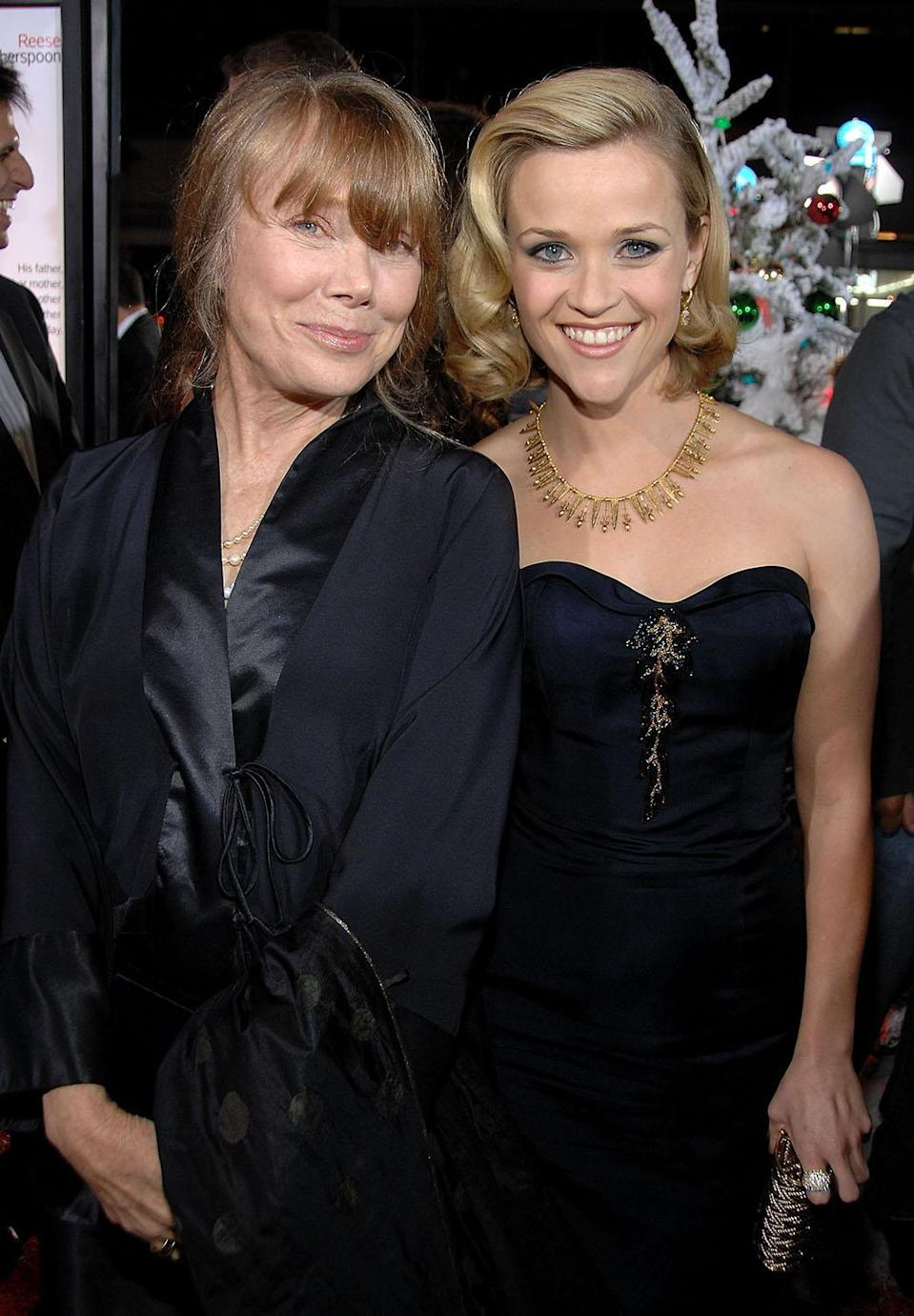 <p>On the red carpet for the Los Angeles premiere of the Christmas comedy that paired Reese with fellow southerner Sissy Spacek as her mother-in-law.<br> (Photo: Getty Images) </p>