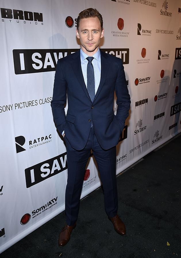 Let's also take a look at Tom Hiddleston. (Photo: Getty Images)