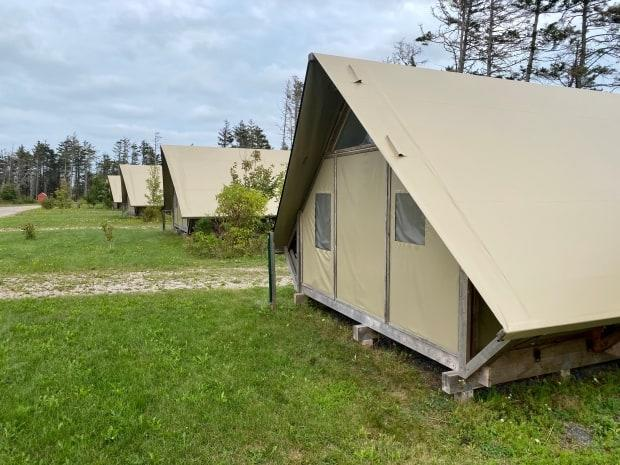 Cavendish Campground was closed for the 2020 season as the global pandemic delayed rehabilitation efforts after post-tropical storm Dorian. (John Robertson/CBC - image credit)