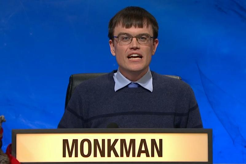 Fan favourite: Eric Monkman is heading up the University Challenge final: BBC