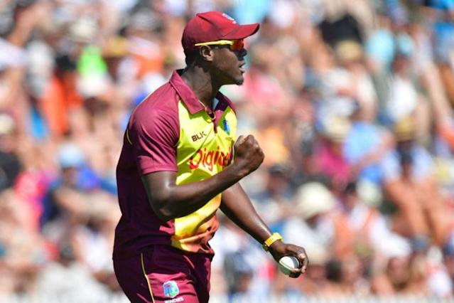 West Indies all-rounder Carlos Brathwaite has signed to play for Kent in their opening four matches of the Vitality Blast Twenty20 competition, the county announced on Wednesday.