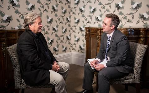 Steve Bannon on Chopper's Brexit Podcast - Credit:  Jeff Gilbert/ Jeff Gilbert
