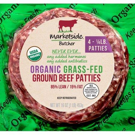 We guarantee none of your guests will have a beef with these succulent organic patties. (Photo: Walmart)