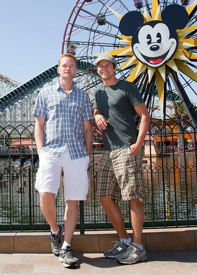 """Happy news for Neil Patrick Harris and his partner David Burtka! Last weekend, the """"How I Met Your Mother"""" star confirmed via Twitter that he and Burtka are expecting not one, but two bundles of joy via surrogate this fall. Usmagazine.com reports the pair are having a boy and a girl. Paul Hiffmeyer/Disneyland/AP"""