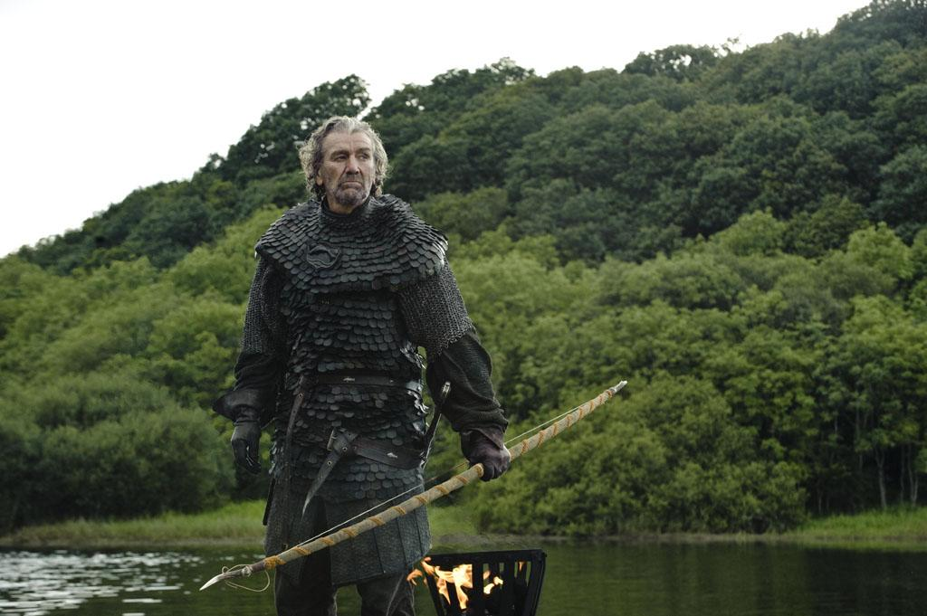 """Season 3 introduces more of Catelyn Stark's family, the Tullys, including her uncle Brynden aka """"The Blackfish"""" (Clive Russell)."""