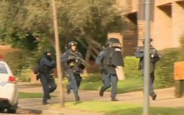 There are concerns for the saftety of police officers and the public following the fatal shooting of Curtis Cheng. Source: 7 News.
