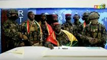 Army stages coup in Guinea (AFP/STRINGER, Abdoulrahmane BAH)