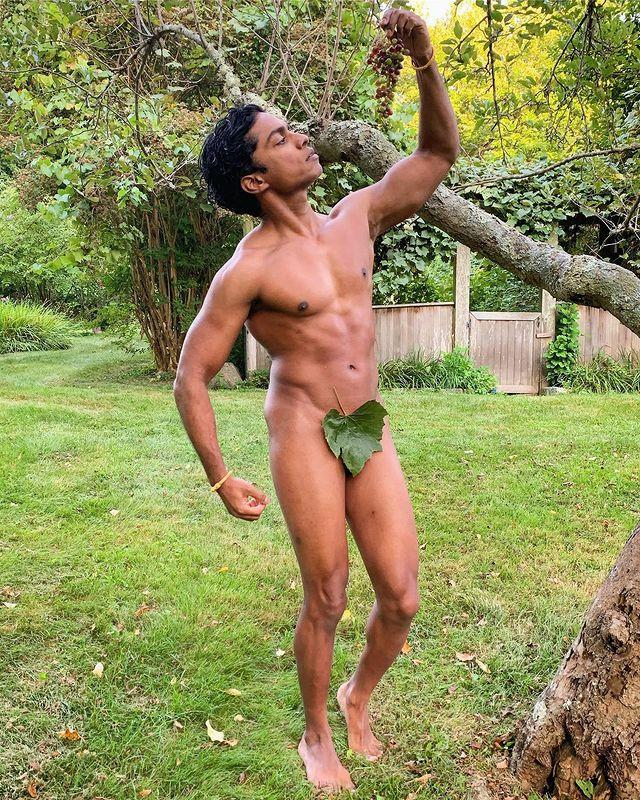 """<p>Never again will fans say, """"on October 3rd, he asked me what day it was,"""" instead, they'll say, """"on October 3rd, Kevin Gnapoor posted a nude on Instagram."""" Yep, to celebrate <em>Mean Girls </em>Day, Rajiv Surendra, AKA rap god Kevin G, posed totally naked on Instagram, wearing nothing but a leaf. I can comfortably say that Kevin G would be proud. </p><p><a href=""""https://www.instagram.com/p/B3JcyU2n8Ko/"""" rel=""""nofollow noopener"""" target=""""_blank"""" data-ylk=""""slk:See the original post on Instagram"""" class=""""link rapid-noclick-resp"""">See the original post on Instagram</a></p>"""