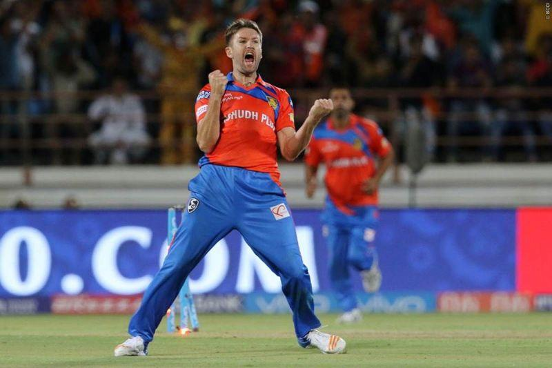 Andrew Tye struck gold with a fifer and a hat-trick on his IPL debut