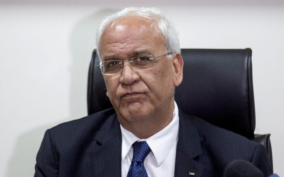 Saeb Erekat, a senior PLO official, has died of coronavirus aged 65 - Shutterstock