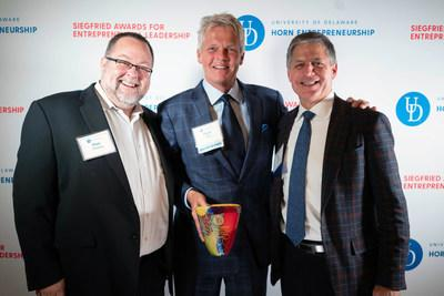 Dave LaRue, a global entrepreneur, visionary, speaker, author, recently accepted the 2018 Siegfried Award for Entrepreneurial Leadership