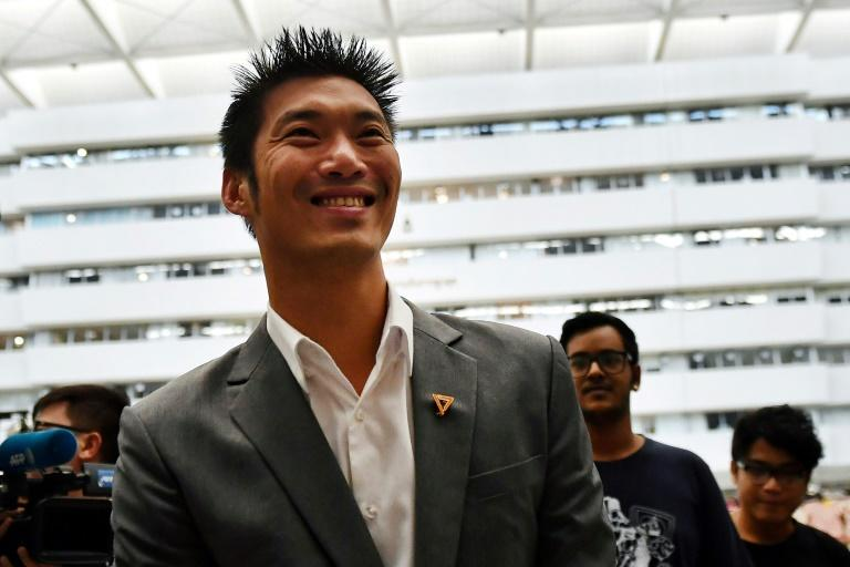 Thanathorn Juangroongruangkit is leader of the Future Forward Party, Thailand's third largest political group