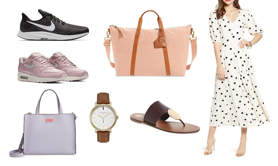 Nordstorm's Half-Yearly sale is still going on through June 2. Shop and save up to 50 percent off your favorite brands including Nike, Kate Spade and more.