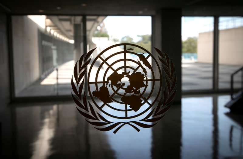 FILE PHOTO: 75th annual United Nations General Assembly to be held mostly virtually due to the coronavirus disease (COVID-19) pandemic in New York